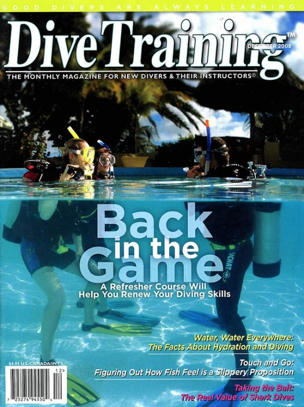 Scuba Diving | Dive Training Magazine, December 2008