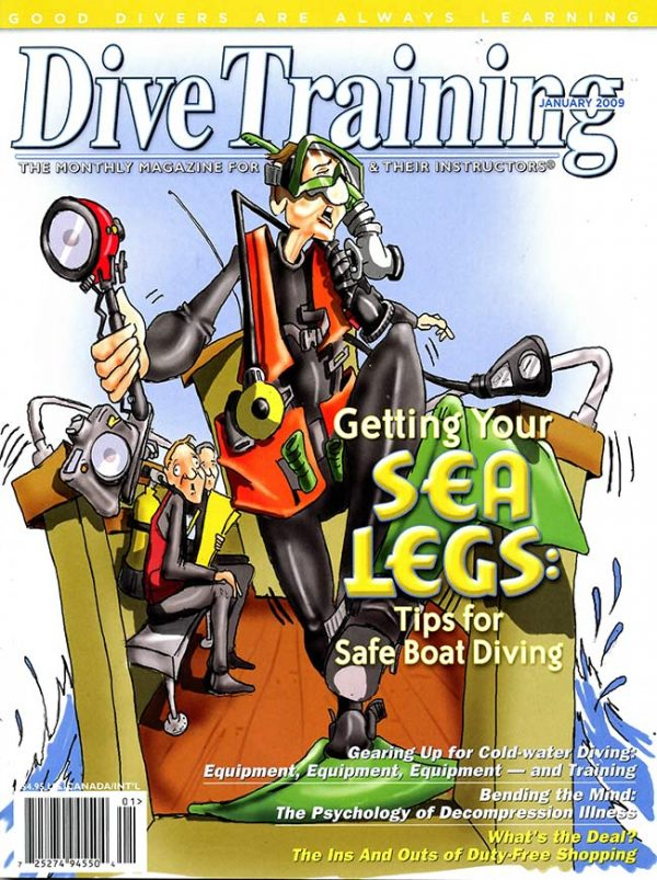 Scuba Diving | Dive Training Magazine, January 2009