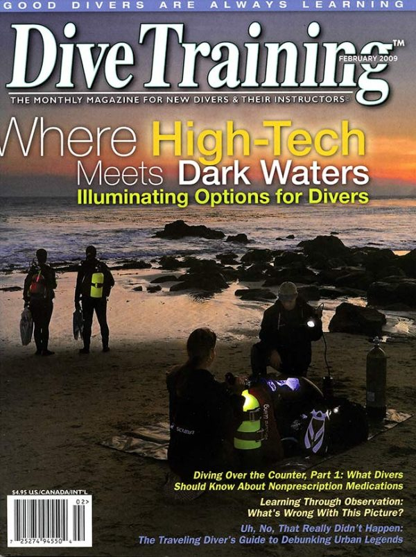 Scuba Diving | Dive Training Magazine, February 2009