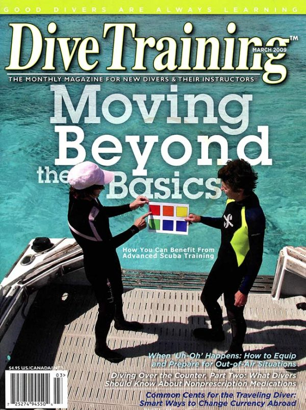 Scuba Diving | Dive Training Magazine, March 2009