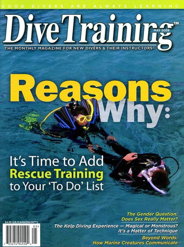 Scuba Diving | Dive Training Magazine, May 2009