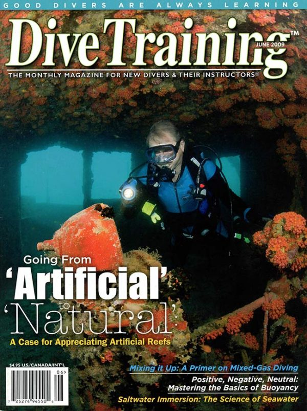 Scuba Diving | Dive Training Magazine, June 2009