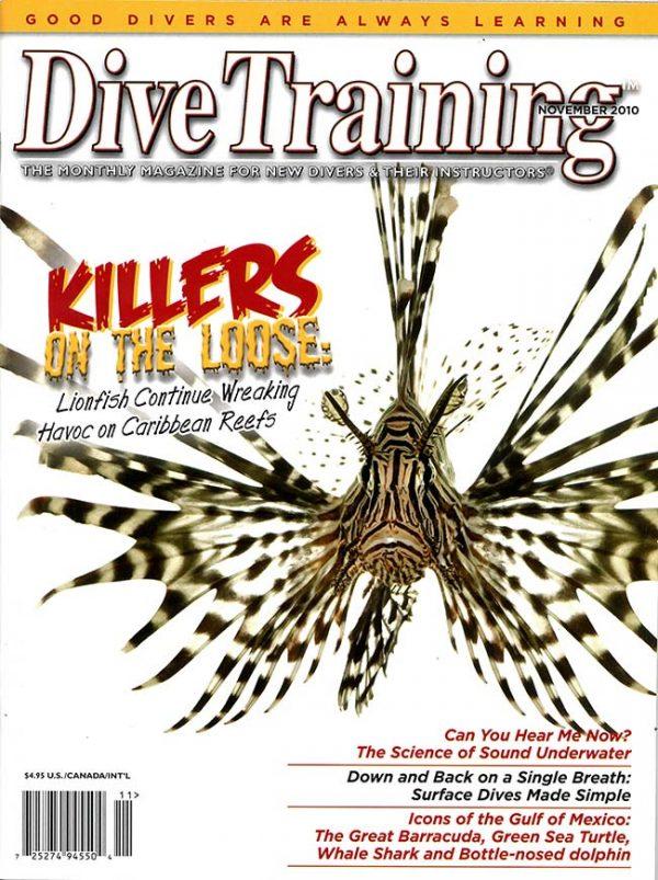 Scuba Diving | Dive Training Magazine, November 2010