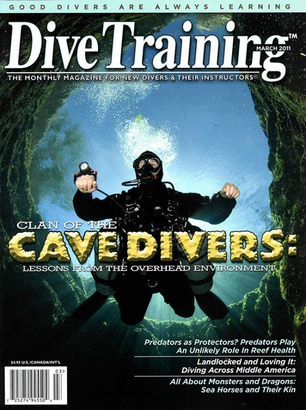 Scuba Diving | Dive Training Magazine, March 2011