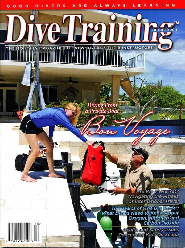 Scuba Diving | Dive Training Magazine, October 2011