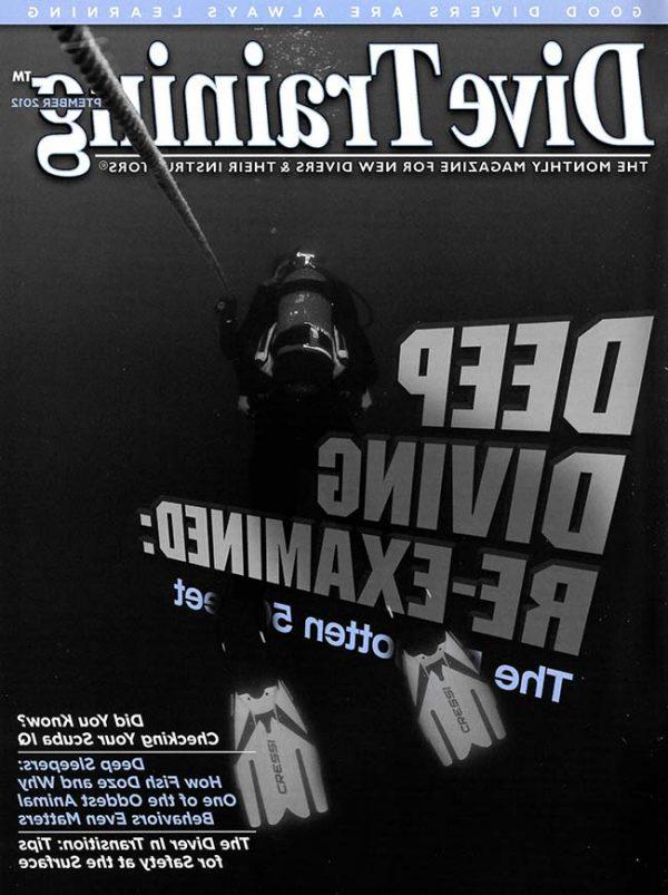 Scuba Diving | Dive Training Magazine, September 2012