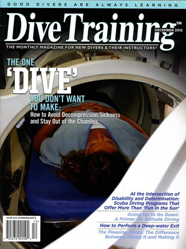 Scuba Diving | Dive Training Magazine, December 2012