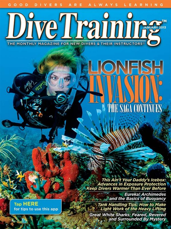 Scuba Diving | Dive Training Magazine, January 2013