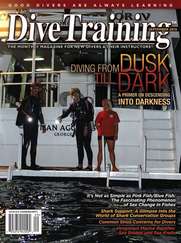 Scuba Diving | Dive Training Magazine, September 2013