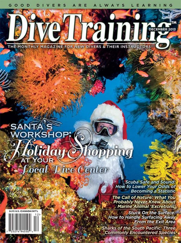 Scuba Diving | Dive Training Magazine, December 2013