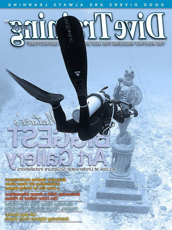 Scuba Diving | Dive Training Magazine, July 2014