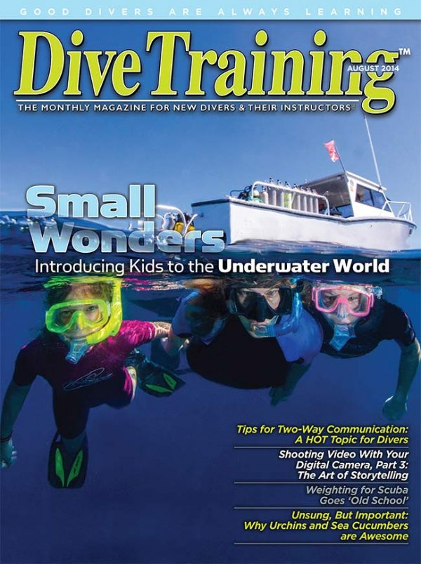 Scuba Diving | Dive Training Magazine, August 2014