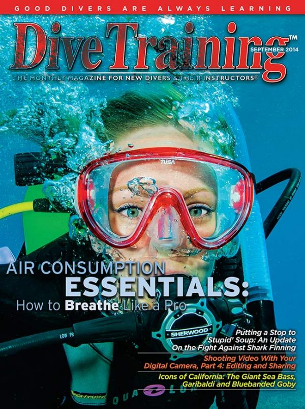 Scuba Diving | Dive Training Magazine, September 2014