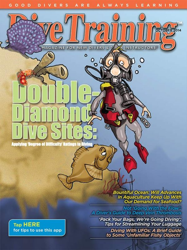 Scuba Diving | Dive Training Magazine, October 2014