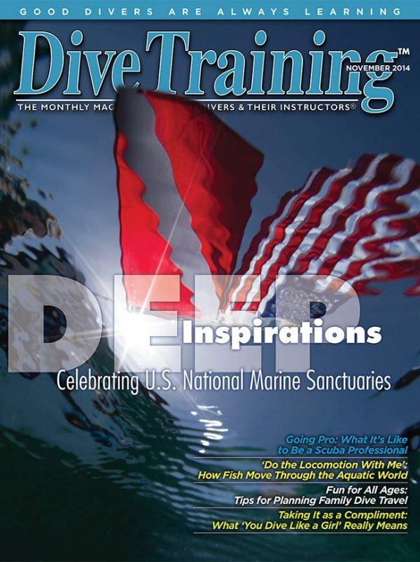 Scuba Diving | Dive Training Magazine, November 2014