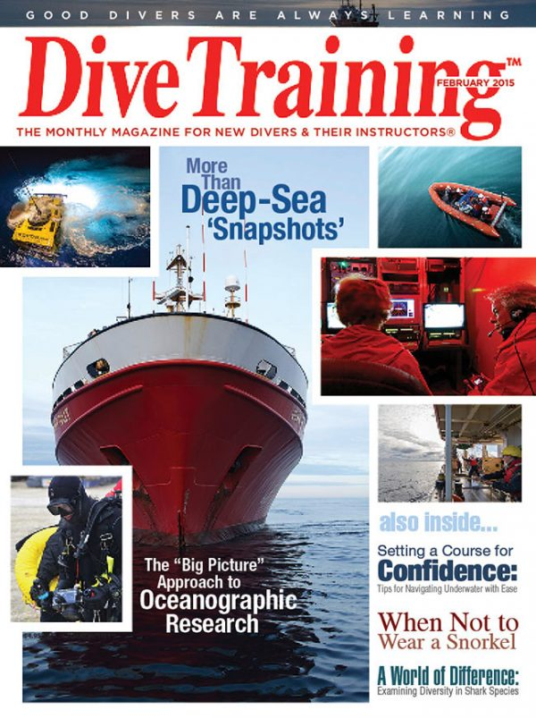 Scuba Diving | Dive Training Magazine, February 2015