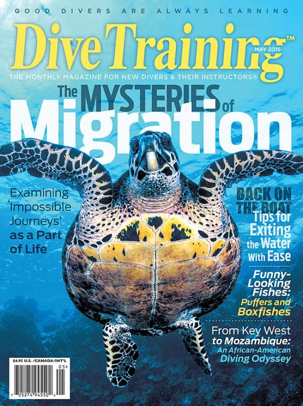 Scuba Diving | Dive Training Magazine, May 2015