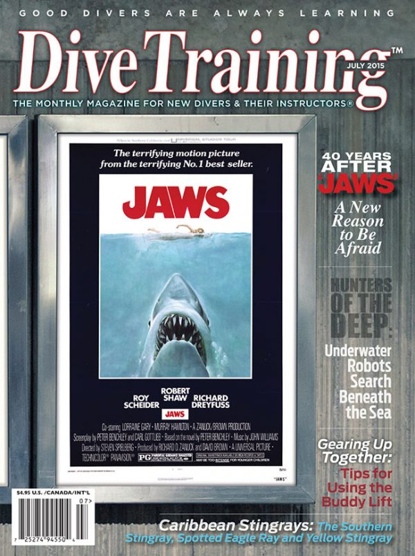 Scuba Diving | Dive Training Magazine, July 2015