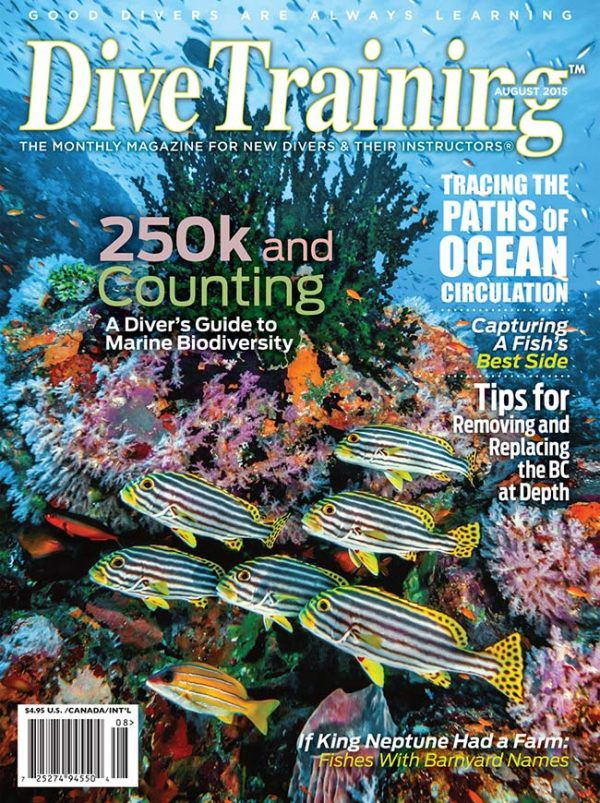 Scuba Diving | Dive Training Magazine, August 2015