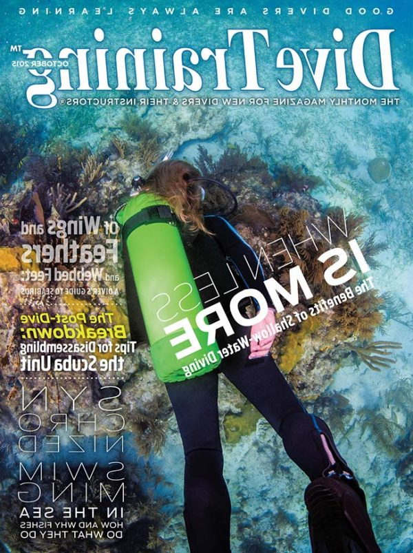 Scuba Diving | Dive Training Magazine, October 2015