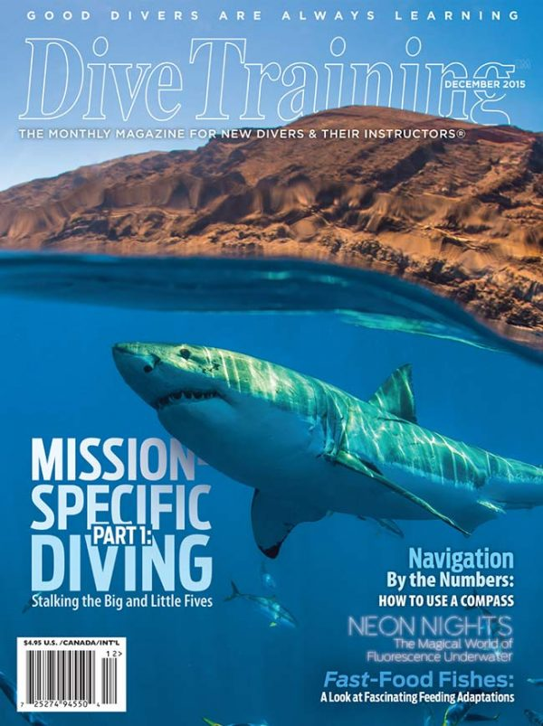 Scuba Diving | Dive Training Magazine, December 2015