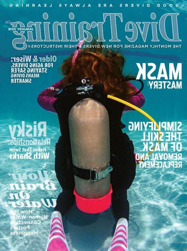 Scuba Diving   Dive Training Magazine, January 2016