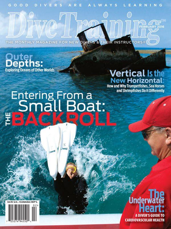 Scuba Diving   Dive Training Magazine, February 2016