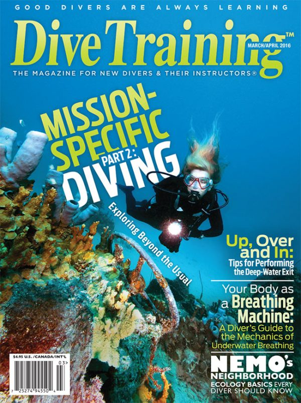 Scuba Diving | Dive Training Magazine, March/April 2016