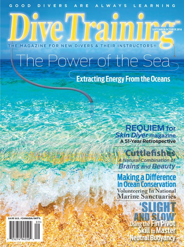 Scuba Diving | Dive Training Magazine, September/October 2016