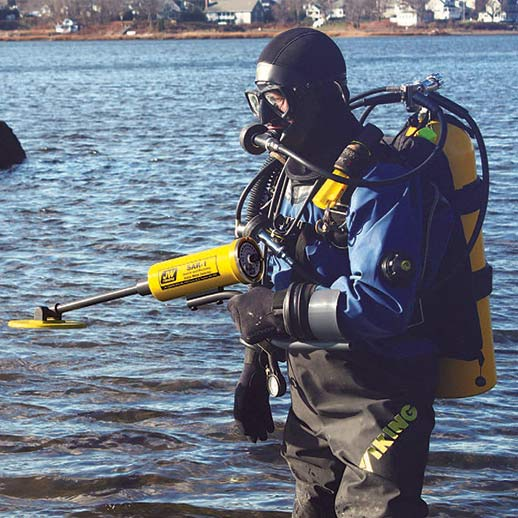 Scuba Diving gear for JW FISHERS PULSE 8X DETECTOR