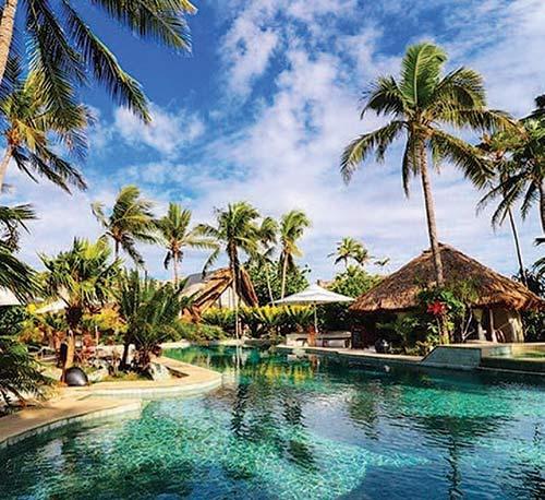 Castaway Island dive resort, Fiji