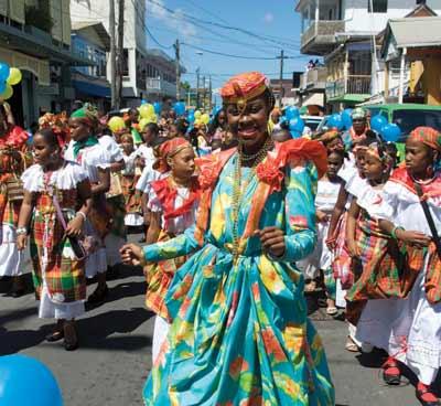 Festival in Dominica