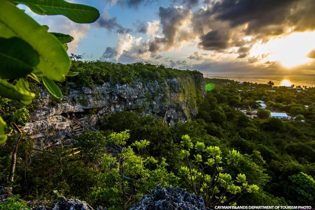Sunset on Cayman Brac