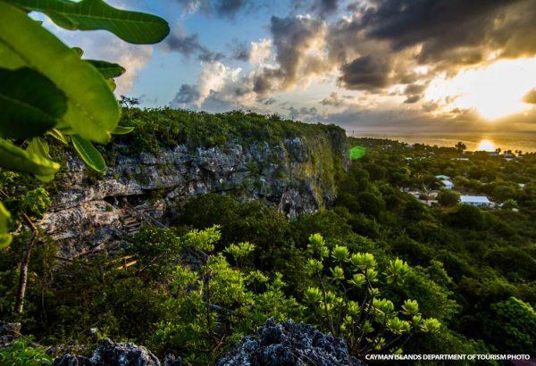 Sunset on Cayman Brac