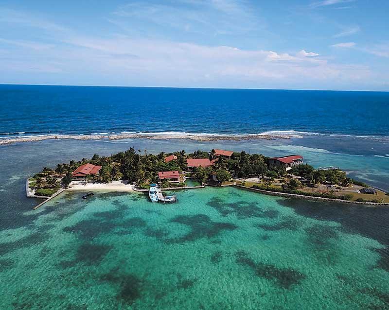 Cabanas on Clarks Cay, Guanaja, Honduras