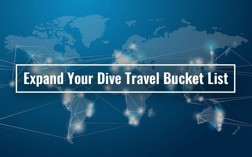 scuba diving bucket list
