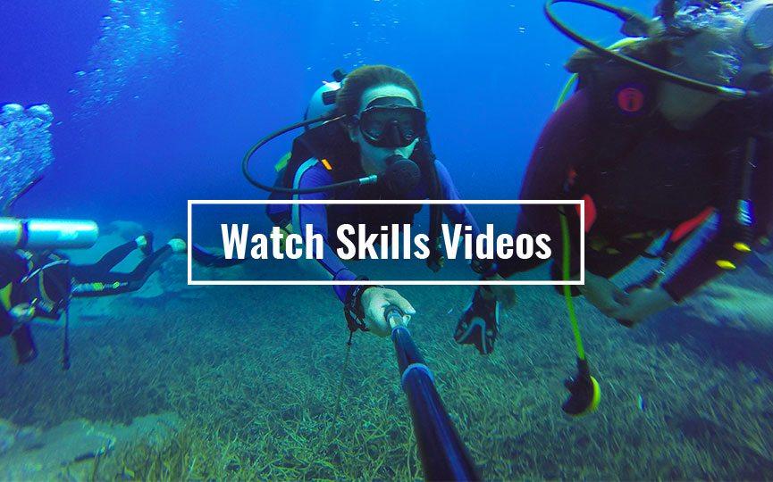scuba diving skills