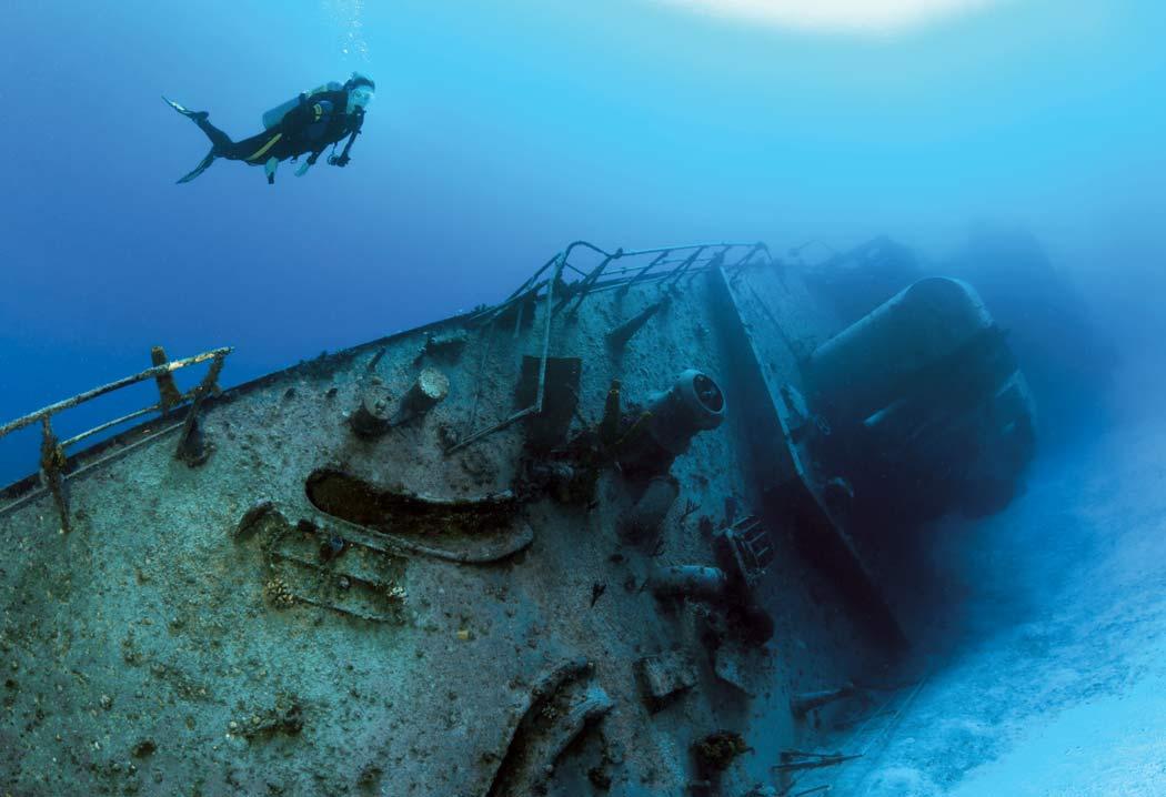 Exploring the islands of cayman brac little cayman - Dive training magazine ...