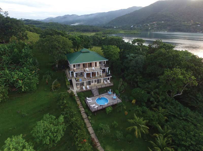G & G's Clearwater Paradise Resort, Bay islands Honduras