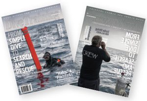 Dive Training September/October 2018 covers