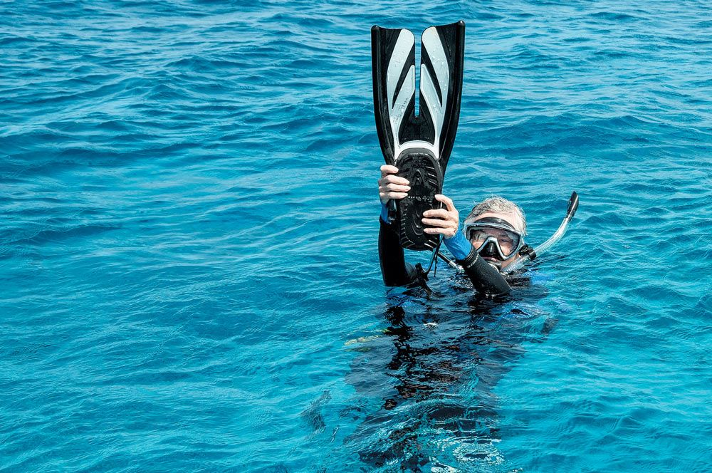 scuba skills - surface communication