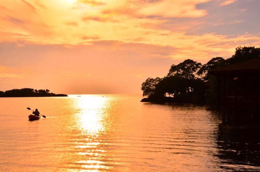 Sunset - Anthony's Key Resort