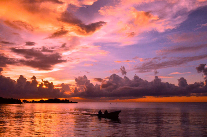 Kayak at sunset - Anthony's Key Resort