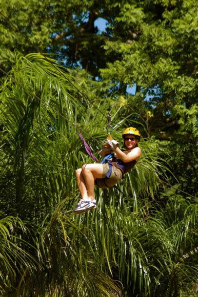 Ziplining - Anthony's Key Resort