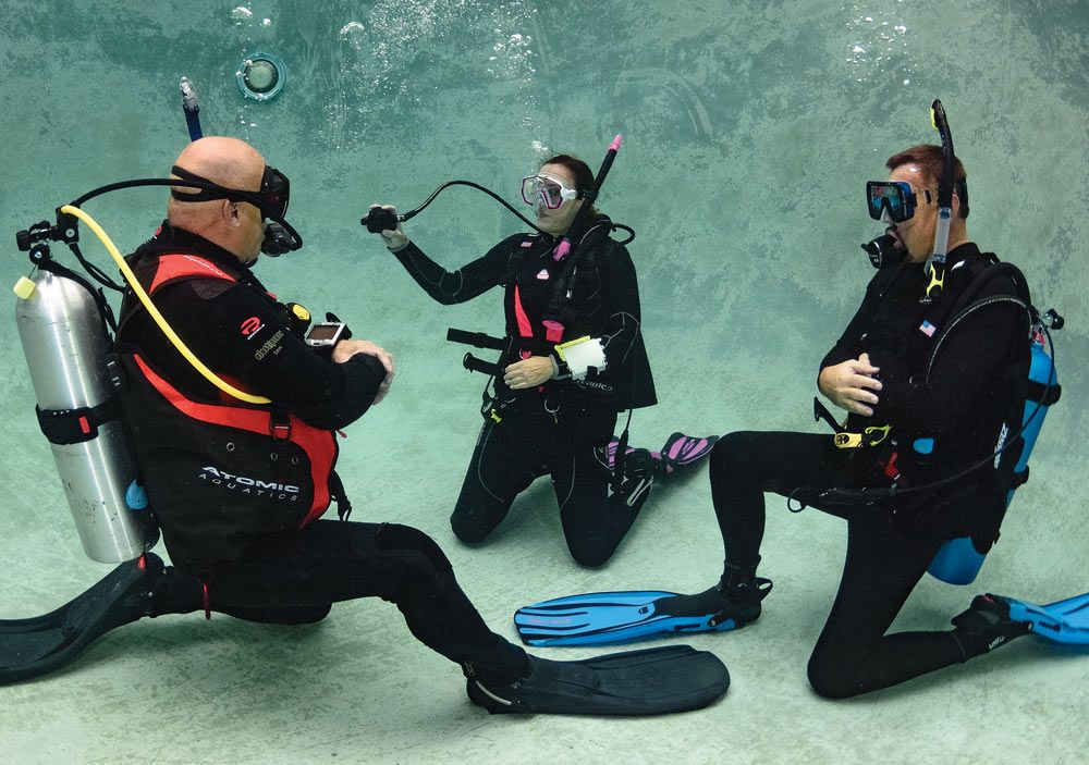 scuba skills regulator retrieval