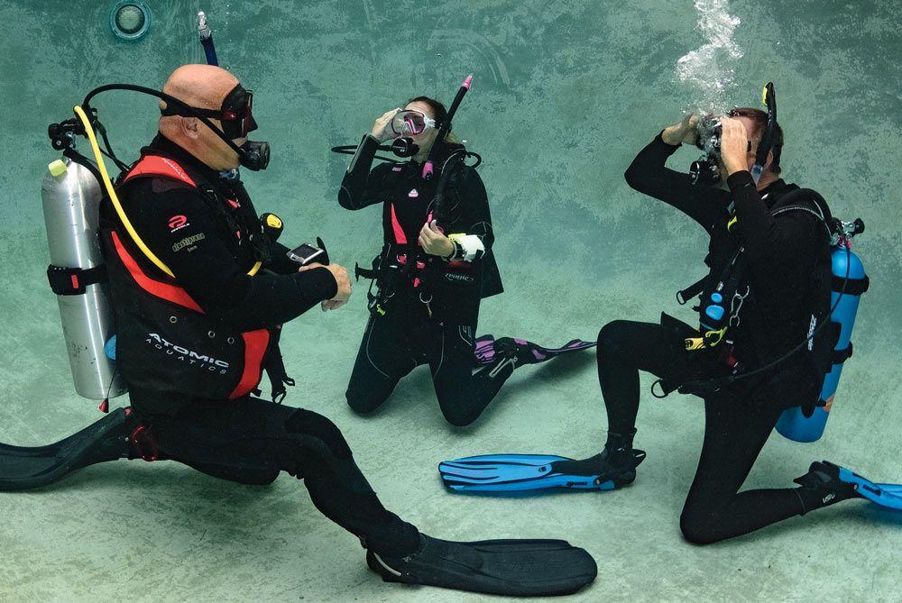 scuba skills mask clearing