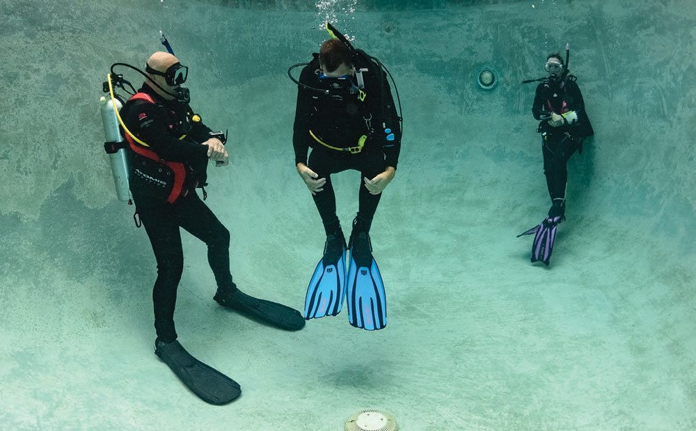 scuba skills buoyancy control