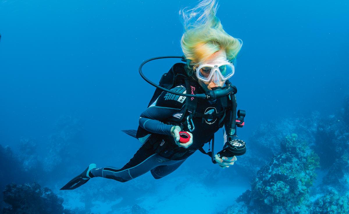 scuba skills - air consumption