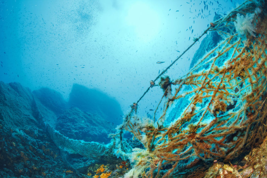 ghost fishing gear