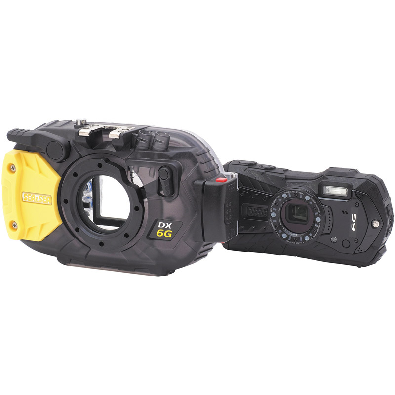 Scuba Diving gear for DX-6G COMPACT CAMERA AND HOUSING SET, SEA & SEA